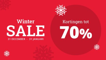 Winter Sale - Kortingen tot 70%