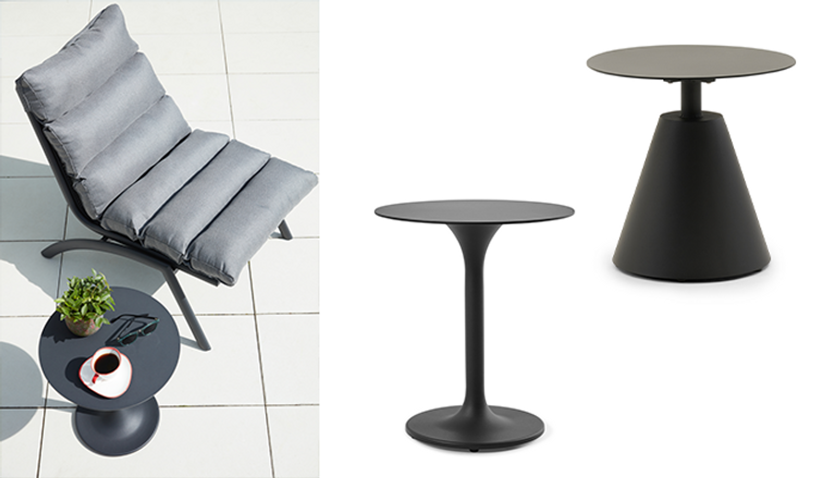 Fauteuil relax Siena avec table d'appoint